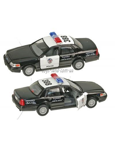 """Машина металл """"KINSMART"""" KT5327W """"Ford Crown Victoria"""", в коробке 16*8*7,5см"""