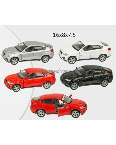 """Машина металл """"KINSMART"""" KT5336W """"BMW X6"""", в коробке 16*8*7,5см"""