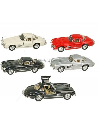 """Машина металл """"KINSMART"""" KT5346W """"Mercedes-Benz 300SL 1954"""", в коробке 16*8*7,5см"""