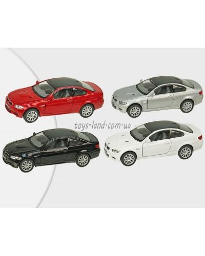 "Машина металл ""KINSMART"" KT5348W  ""BMW M3 Coupe"", в коробке 16*8*7,5см"