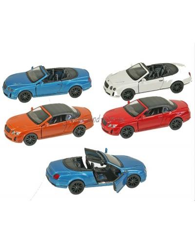 """Машина металл """"KINSMART"""" KT5353W """"Bentley Continental"""", в коробке 16*8*7,5см"""