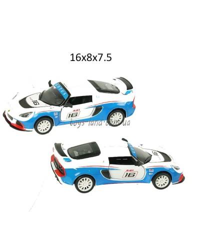 """Машина металл """"KINSMART"""" KT5362W """"Lotus Exige R-GT"""", в коробке 16*8*7,5"""