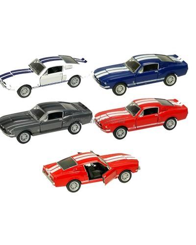 "Машина металл ""KINSMART"" KT5372W  ""Shelby GT500"", в коробке 16*8*7,5см"