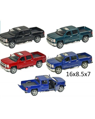 "Машина металл ""KINSMART"" KT5381W ""Chevrolet Silverado"" в кор. 16*8,5*7см"