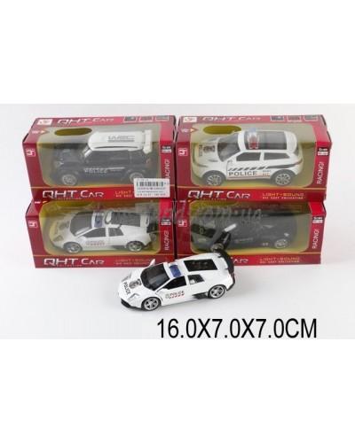 Машина металл ML53602LP (1530834)  М1:32,свет,звук,pull back,4цвета,в коробке 16*7*7см
