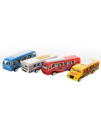 Автобус инерц. 3598B микс, в пакете 11*4*3см
