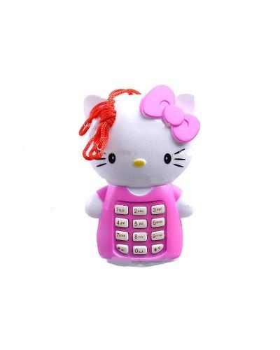 """Моб.телефон KT6 батар., """"Китти"""" в пакете 11*7*4см"""