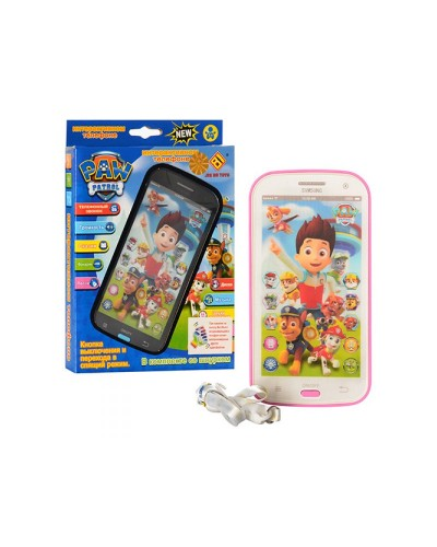 Муз телефон JD-0883F2/P2  батар., интерактив.экран, в кор. 20*11*3см
