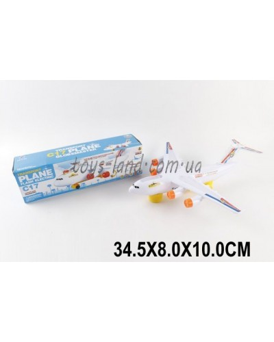 Самолет батар. LX717A (1498673)  в коробке 34,5*8*10см