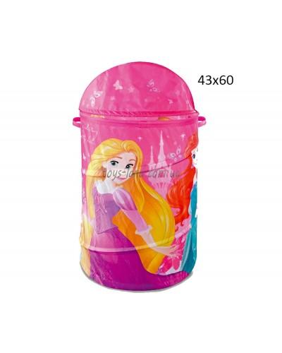Корзина для игрушек D-3506  Princess в сумке ,43*60 см