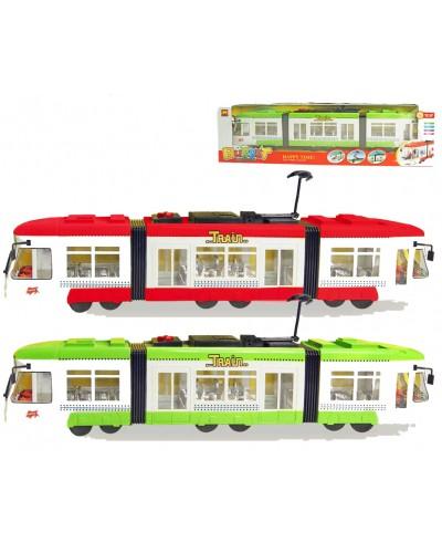 Трамвай 1258 (1011848) батар., в кор. 48,5*7,5*13,5см