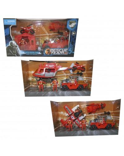 Набор транспорта 3102-88/90/91 3 вида, в коробке
