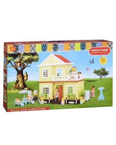Животные флоксовые 1514  Happy Family, в короб.18*15*4,5см