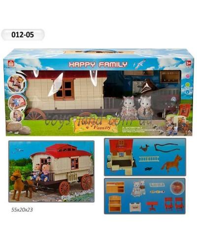 Животные флоксовые 012-05 Happy Family, в короб.55*19,5*23,5см