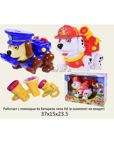 Муз. собака 65169AB  интерактивная 2 вида в коробке