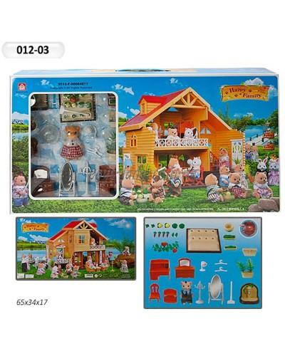 Животные флоксовые 012-03 Happy Family, в короб.65*34*17см