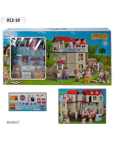 Животные флоксовые 012-10 Happy Family, в короб.65*34*17см