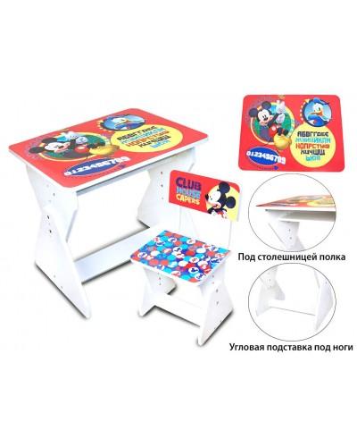 Парта Mickey Mouse 2016-05 со стульчиком в кор.65*50*10 см