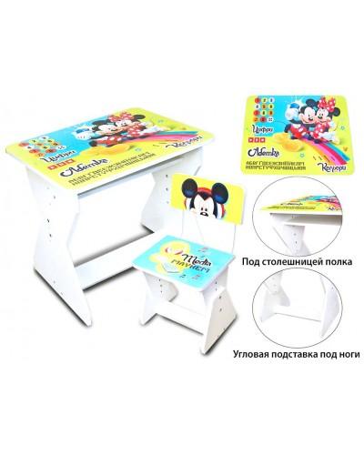 Парта Minnie Mouse 2016-04 со стульчиком в кор.65*50*10 см