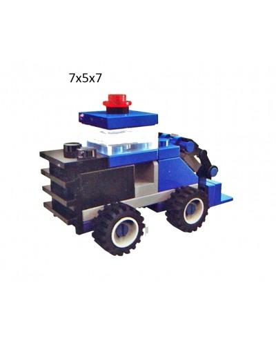 """Конструктор """"Brick"""" 1218  """"Комбайн"""" 30 дет., 6+лет, мини, в собр. кор.7*5*7см"""