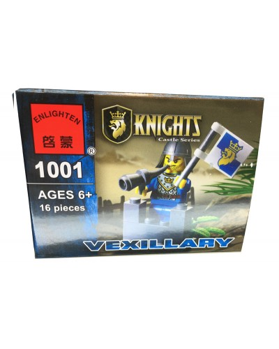 """Конструктор """"Brick"""" 1001  KNIGHTS, 16дет, в собр.коробке 9,5*7*4,5см"""