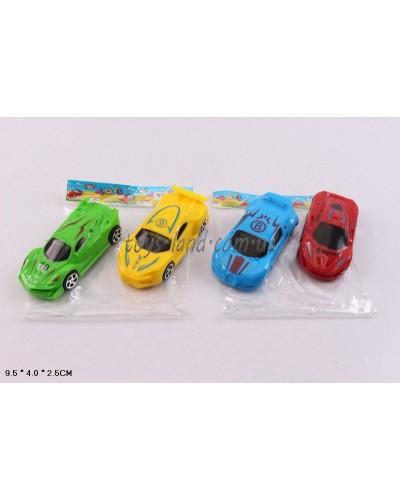 Машина инерц. 866-2 4 вида, в пакете 9,5*4*2,5см