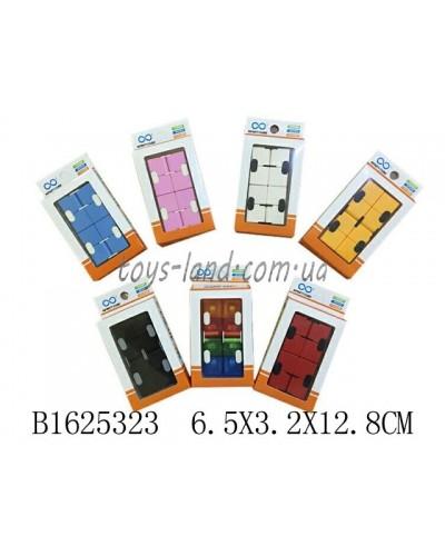 Магический Кубик  SM1226-2 (1625323)  4 цвета микс, в коробке6,5*3,2*12,8см