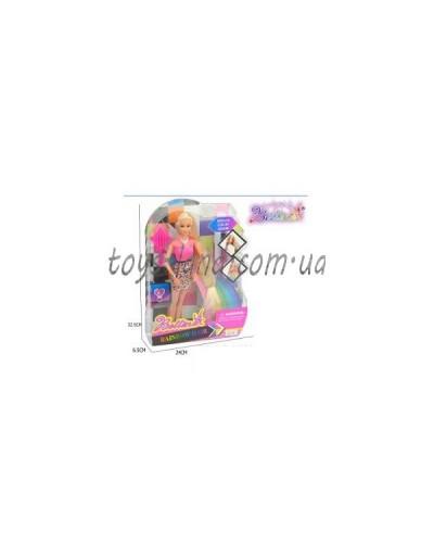 """Кукла типа """"Барби""""Парикмахер"""" 66838 расческа, набор для окрашивания волос,в кор.32*6*24см"""