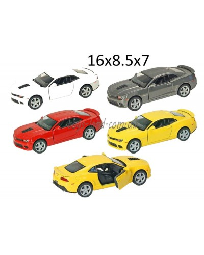 "Машина металл ""KINSMART"" KT5383W ""Chevrolet Camaro"" в кор. 16*8,5*7см"