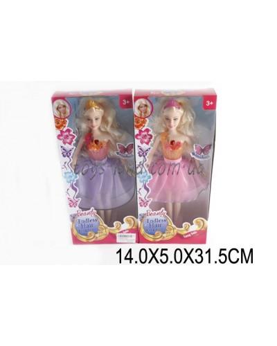"""Кукла типа """"Барби"""" 820 (1504992) 2 вида, муз, свет, в кор.14*5*32см"""
