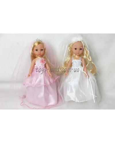 """Кукла """"Isabella"""" BR102K 2 вида, невеста, 24см, в пак."""