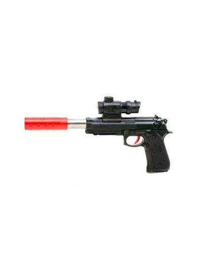 Пистолет 301/302 (1562486/7) присоски,гелев.пульки в коробке 40*5*18см