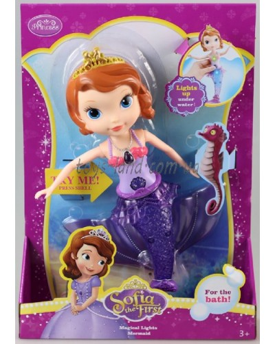 "Кукла ""Sofia-русалка"" ZT9944 светится в воде, в кор.23*32,5*7 см"
