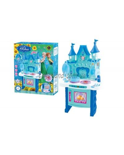 "Набор ""Кухня""Frozen"" 018-35 батар,свет,звук,посуда, в кор."