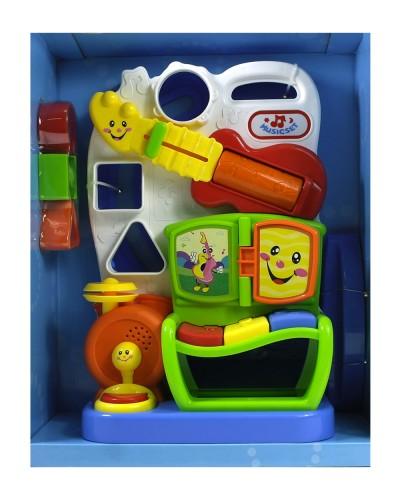 Музыкальная развивающая игрушка 826-15 в коробке
