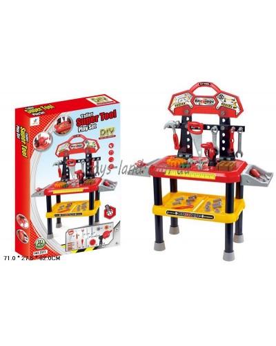 Столик с инструментами 2211 78 деталей, в коробке 71*27,5*82см