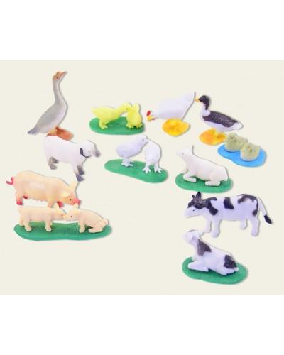 Животные NC01-5   домашние животные,в пакете 20*17*3,5см
