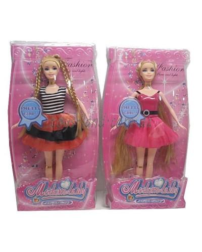Кукла типа Барби PS-032 2 вида,29см, в слюде