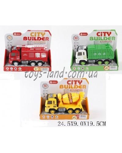 Машина батар. 998-43F3/E3/D3 (1475514/5/6) свет,звук,в коробке 24,5*9*19,5см