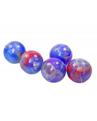 Лизун CL1789 радужный шарик, 24шт в боксе
