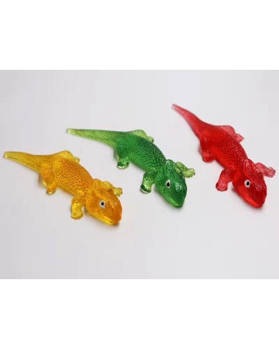 Животные-лизуны B24361 4 цвета, разм 18*5см пакет,в боксе 30шт/цена за шт/