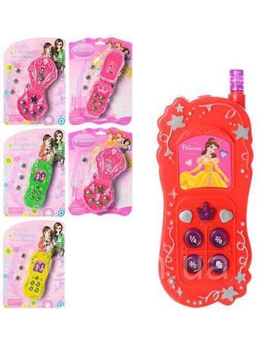 Моб. телефон 16326/7/8-2A  батар, 3 вида,на планш. 21,5*15,5см