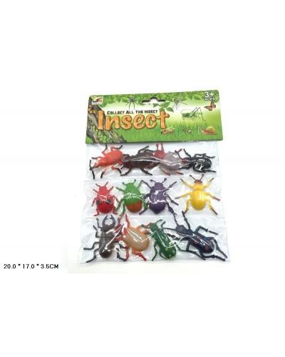 Животные KC01-5  насекомые,в пакете 20*17*3,5см