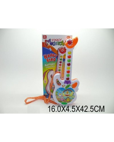 Гитара-орган 318-10A батар,звук,в кор.16*4,5*42,5см
