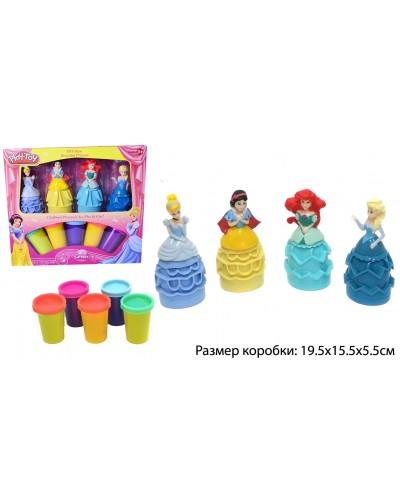 """Набор для творчества SM8022  """"принцессы"""",пластилин, в коробке 19,5*15,5*5,5см"""