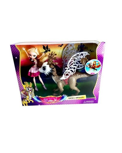 "Кукла ""Ever After High""Dragon Games"" 68008 с драконом, шарнир, в кор."