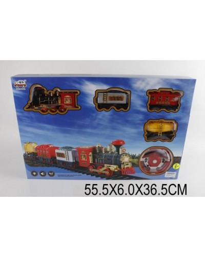 Железная дорога батар. на р/у 31191 (1345056) в коробке 55,5*6*36,5см