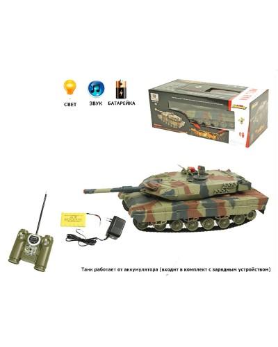 Танк р/у аккум 516-10A (516-10) пульт на батар., в кор. 45*21*17см