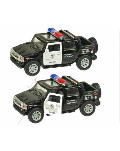 "Машина металл ""KINSMART"" KT5097WP ""Hummer H2"", в коробке 16*8*7см"