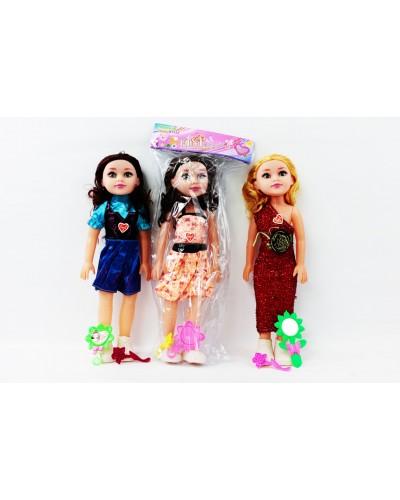 Кукла 9605A 2 вида с аксесс, в пакете 37см